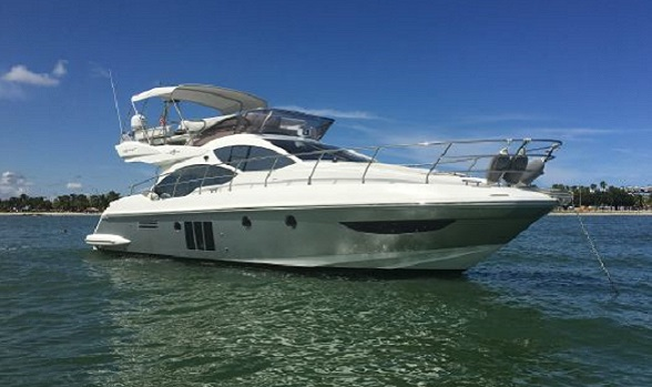 Used 45 Azimut Yachts Flybridge Motor Yacht for Sale