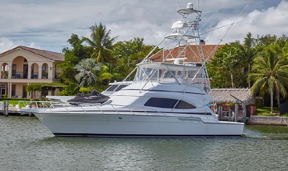 54 Bertram Yachts Sport Fishing Convertible for Sale