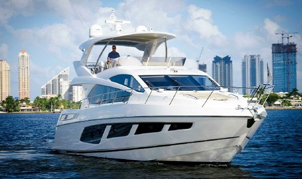 Used 65 Sunseeker Manhattan for Sale