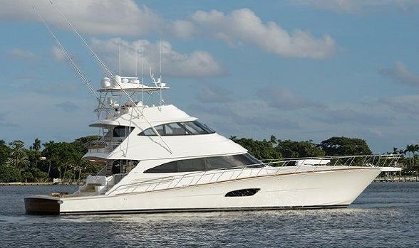 Current Used 92' Class Viking Yachts Convertible Boats for Sale