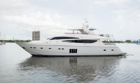 Used Princess Yachts for Sale 95 Motor Yacht Express Viking Sport Cruiser