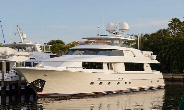 Used 112 Westport Yachts Motor Yacht for Sale Brokerage Raise Pilothouse Boats Westport Yacht Brokers Flagler Yachts