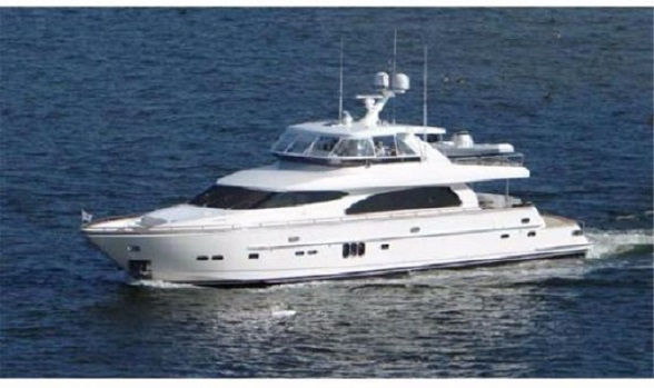 Used 82 Horizon Yachts 2006 Cockpit Motor Yacht for Sale