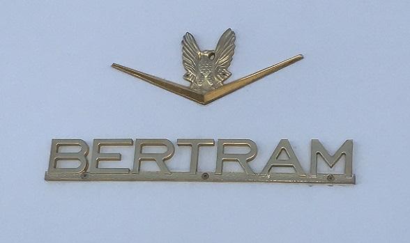 Used Bertram Yachts for Sale Bertram Logo Picture