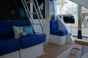 Used Ocean Yachts for Sale 62 Enclosed Bridge 2005 Mezzanine