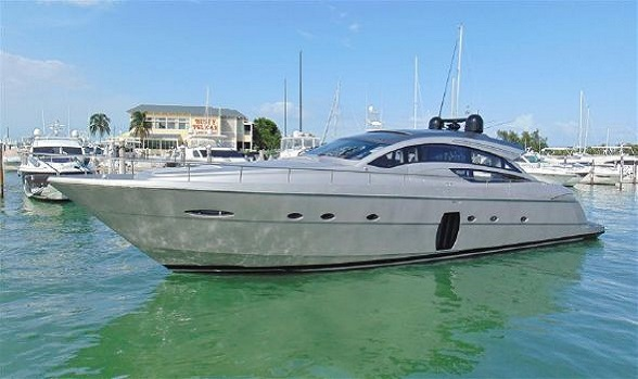 Used Pershing Yachts 72 Class Express Motor Yacht