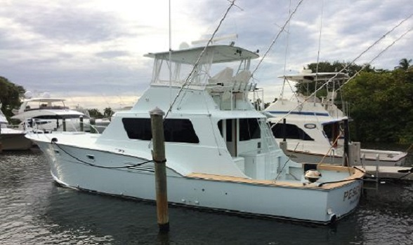 Used Hatteras Yachts for Sale 53 Convertible 1973 Custom Sportfish Information Images Brokerage Boat by Hatteras Yacht Brokers Flagler Yachts