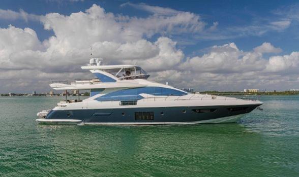 Used Azimut Yachts for Sale 80 Flybridge Motor Yacht 2014