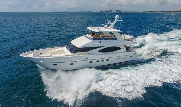 Used Hargrave Yachts for sale Fly Bridge Motor Yacht pitcures info flagler yachts hargrave boat brokerage