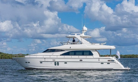 Used Horizon Yachts for Sale Pricing Search Motor Yacht Express FlyBridge Models Information Images Brokerage Boat by Horizon Yacht Brokers Flagler Yachts