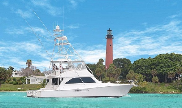 Used 61' Class Viking Yachts Convertible