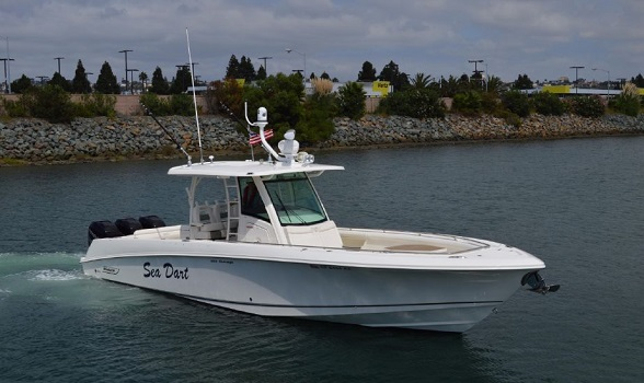 Used Boston Whaler Boats 35' center console for sale