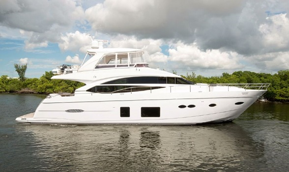 Used Princess Yachts for Sale 72 Motor Yacht Express Viking Sport Cruiser