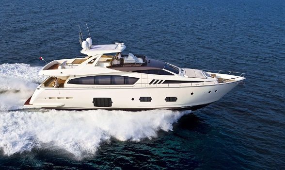 used ferretti yachts for sale brokerage 80 motor yacht express flybridge yacht broker flagler yachts