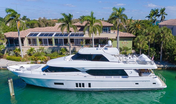 used ocean alexander yachts for sale motor yacht boat brokerage flagler yachts ocean alexander broker 100 fly bridge