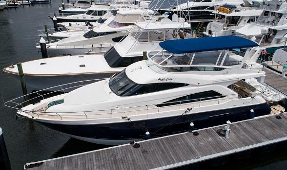 fairline yachts 65 squadron flybridge motor yacht for sale