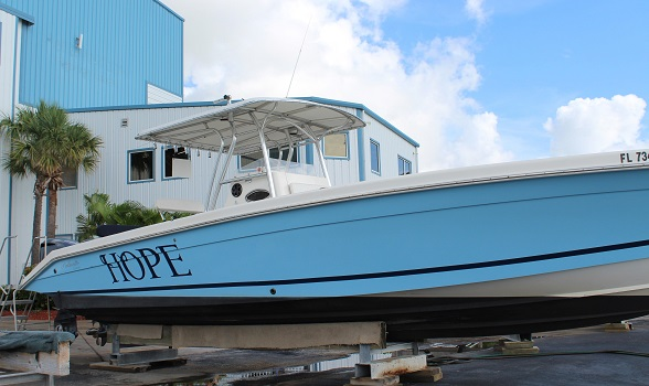 35 palmetto custom center console for sale flagler yachts