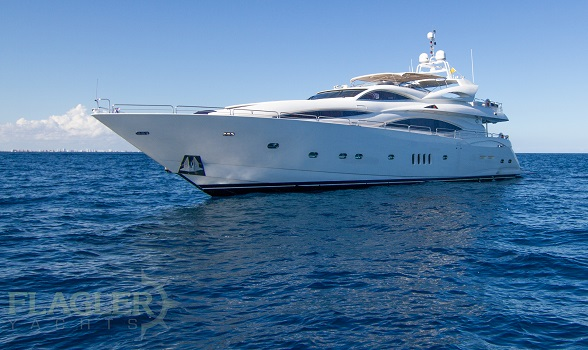 105 Sunseeker Yachts for sale 2002 used motor yacht flagler yachts