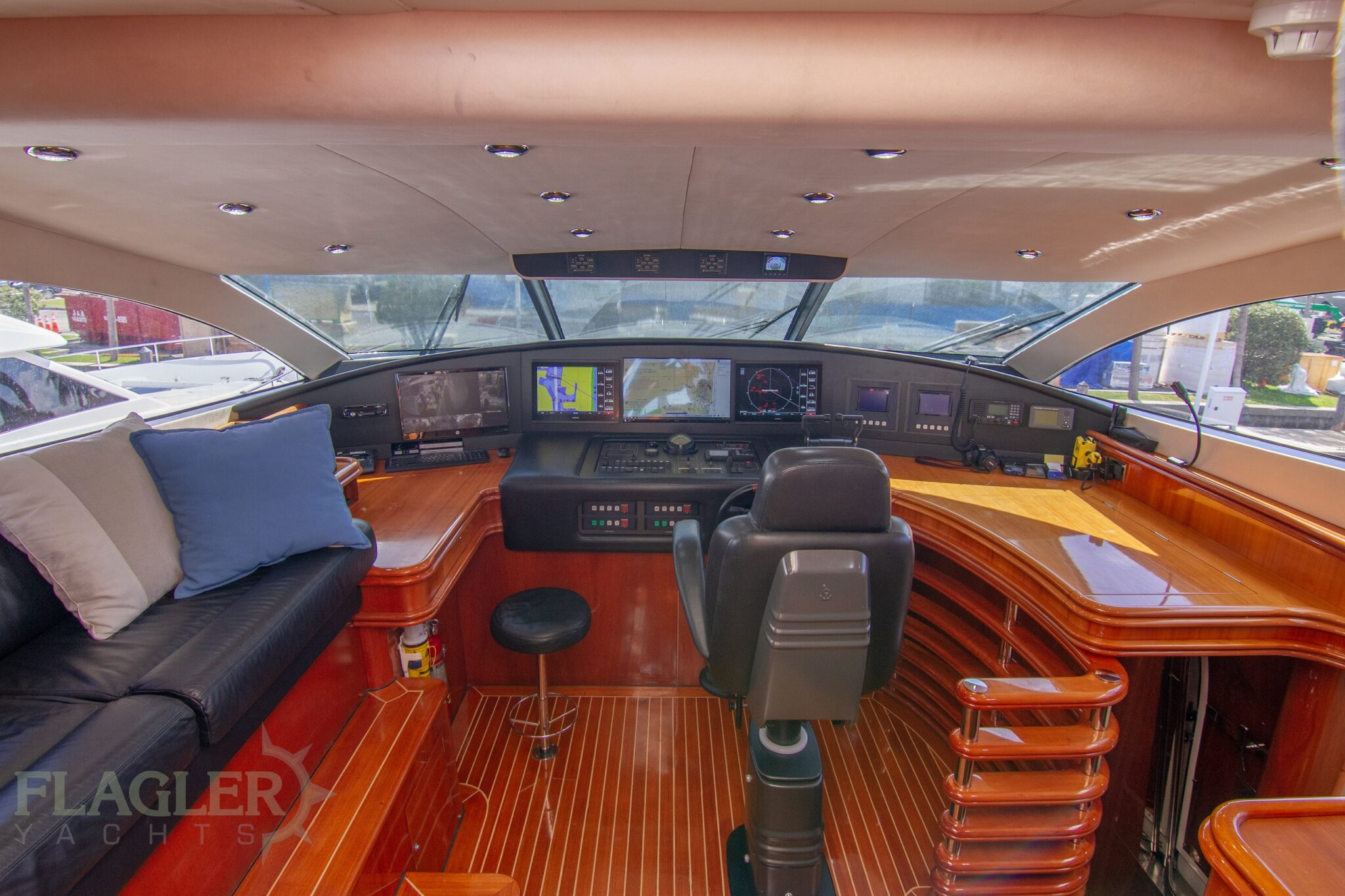 sunseeker 105 yacht for sale flagler yachts used yacht raised pilothous