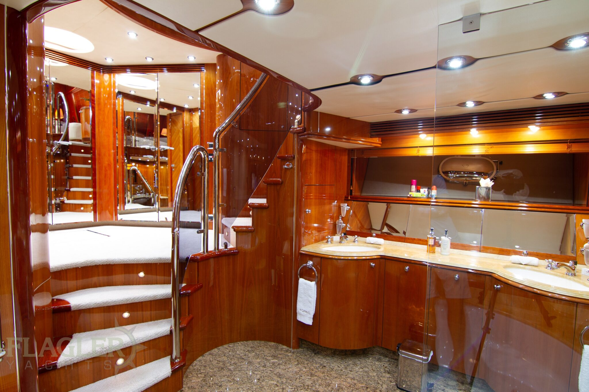 sunseeker 105 yacht for sale flagler yachts used yacht master stateroom head