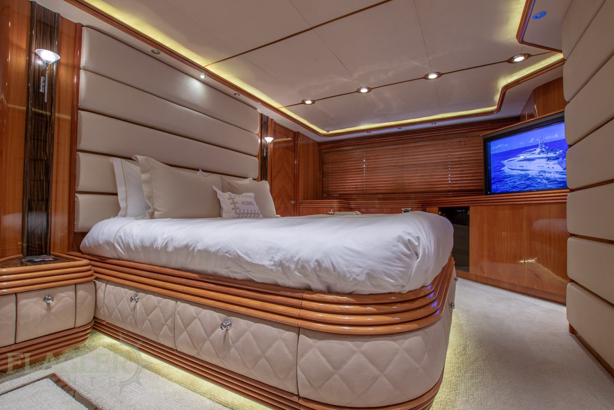 sunseeker 105 yacht for sale flagler yachts used yacht VIP stateroom