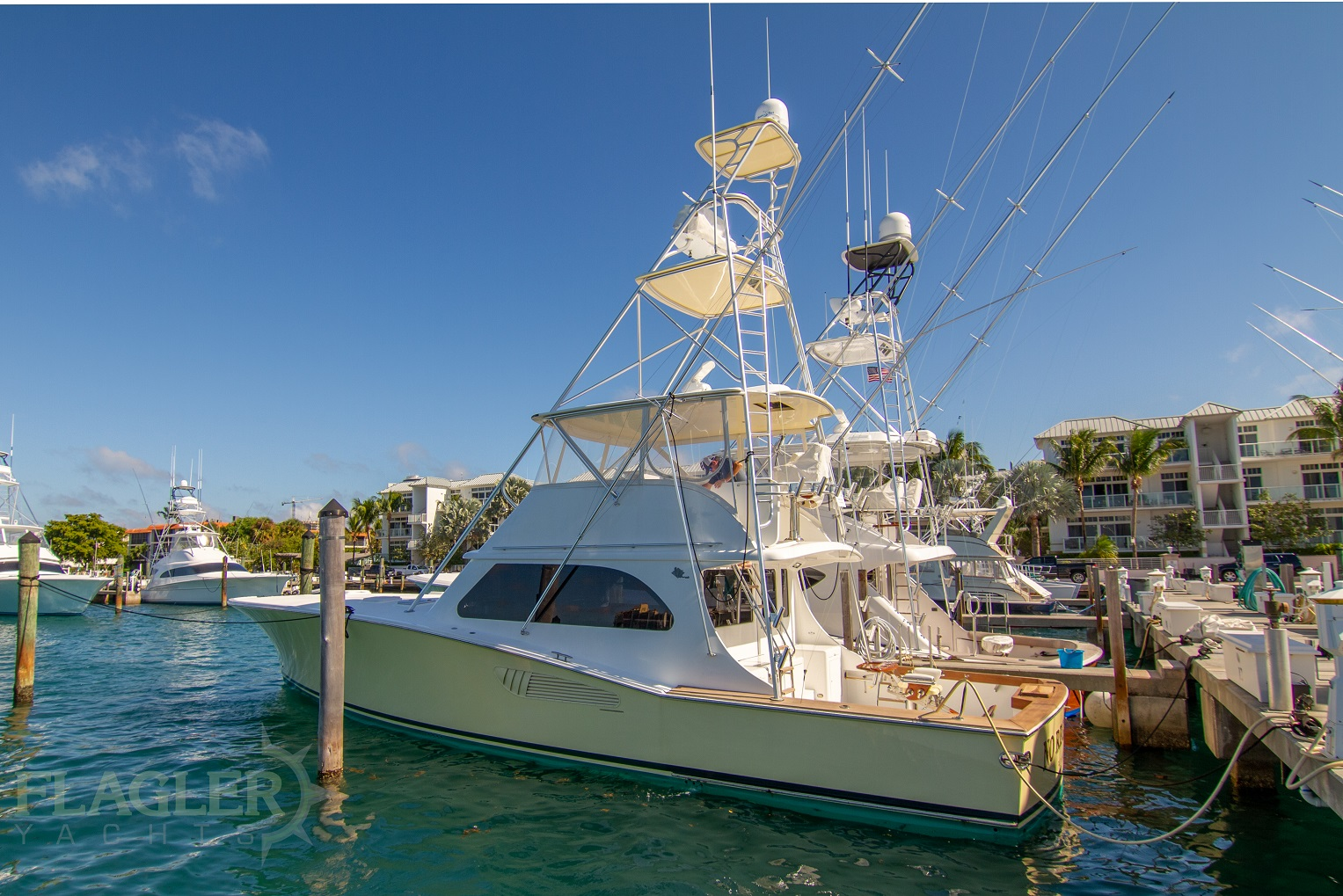 54 vicem yachts 2005 sportfish for sale flagler yachts profile
