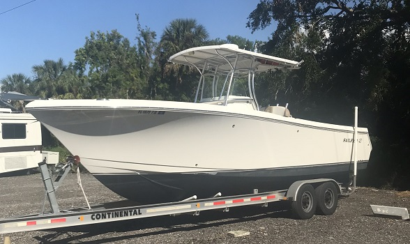 29 SAILFISH CENTER CONSOLE FOR SALE 2013 USED BOAT FLAGLER YACHTS