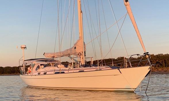 47 Passport 1984 Sailboat for sale Flagler Yachts