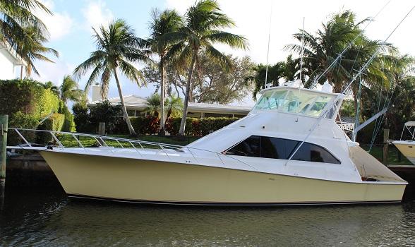 53 ocean yachts super sport sportfish 1996 convertible for sale flagler yachts