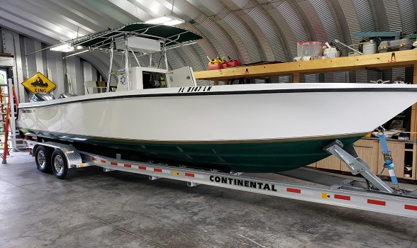 25 Contender 2000 center console for sale flagler yachts