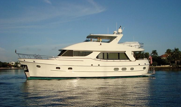 used 68 cheoy lee motor yacht for sale flagler yachts trawler canoe stern