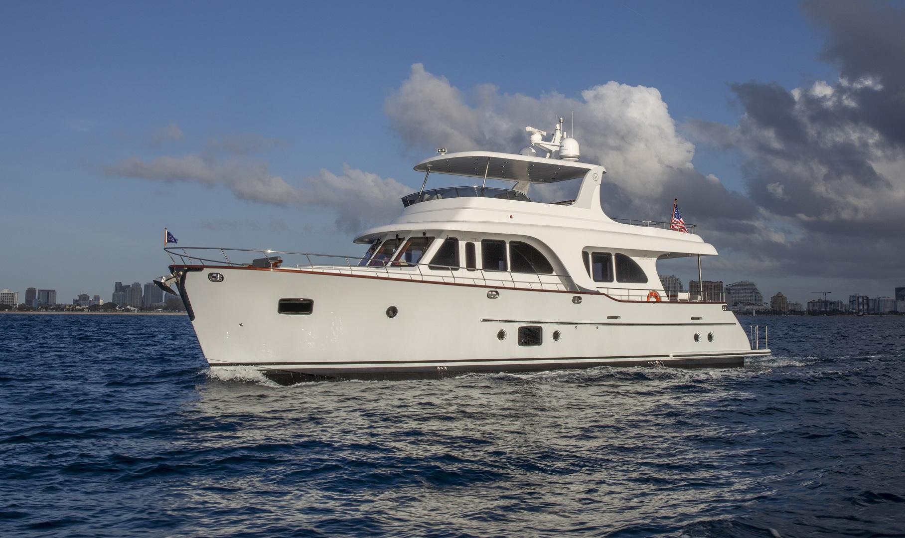 67 Vicem Cruiser for sale Flagler Yachts Profile