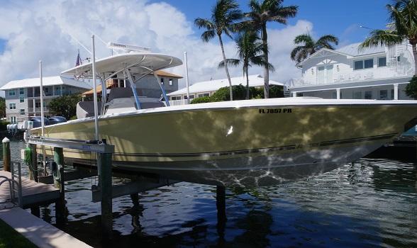 32 Jupiter center console used for sale flagler yachts